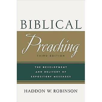 Bibelsk prædiken - udvikling og levering af Expository beskeder