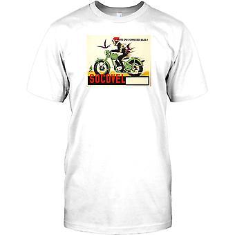 Socovel - klassieke Belgische motorfiets Kids T Shirt