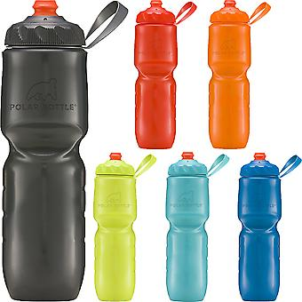 Polar Bottle 24 oz. ZipStream High Flow Insulated Squeezable Water Bottle