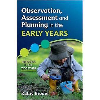 Observation, évaluation et planification dans The Early Years - porter tous ensemble