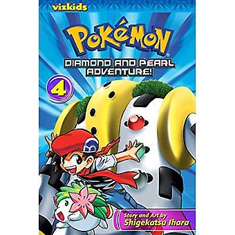 Pokemon Diamant und Perle Abenteuer!, Band 4