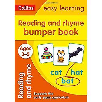 Läsning och Rhyme stötfångare bok åldrarna 3-5 (Collins lätt lärande förskola) (Collins lätt lärande förskola)