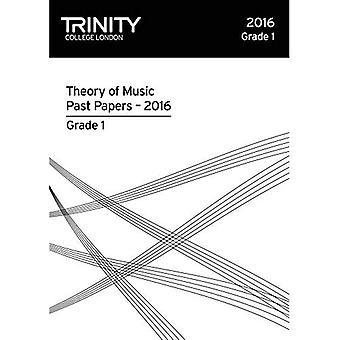 Trinity College London Theory of Music Past Paper� (2016) Grade 1