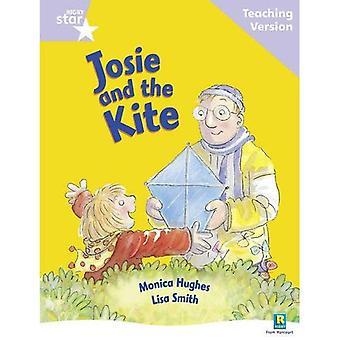 Rigby stjärnigt guidad läsning lila nivå: Josie och Kite undervisning Version