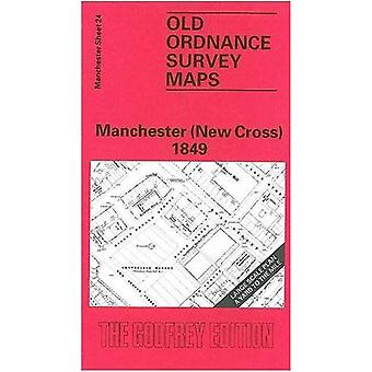 New Cross (Old O.S. Maps of Manchester) [Facsimile] [Folded Map]