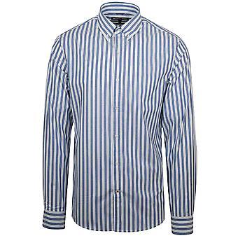 Michael Kors Michael Kors blå Chambray skjorte