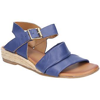 Hush valpar Womens Ruby spänne rem Wedge sommar sandaler