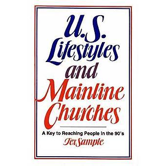 US-Lebensstil und etablierten Kirchen A-Taste, um Menschen zu erreichen, in den 90er Jahren durch Probe & Tex