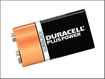 Duracell 9v Cell Plus Power Battery Pack of 1 MN1604/6LR6