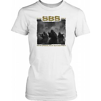 SBS - Special Boat Service Deployed Ladies T Shirt