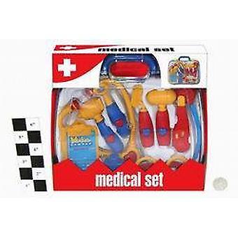 Médecin / Infirmière / Medic Set En Acétate mallette plastique