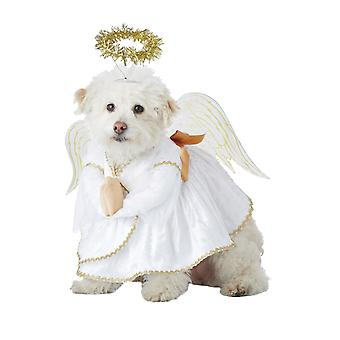 Heavenly Hound Christmas Angel Funny Dog Pet Fancy Dress Costume