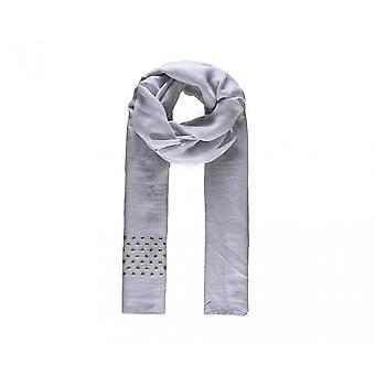 Intrigue Womens/Ladies Square Stud Embellished Scarf