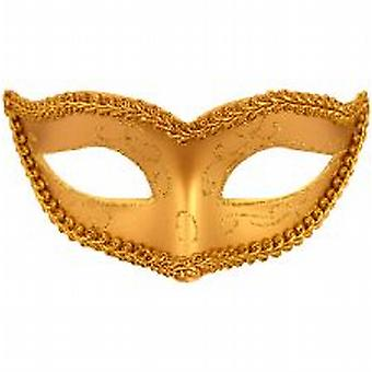 Gold Eye Mask with gold trim