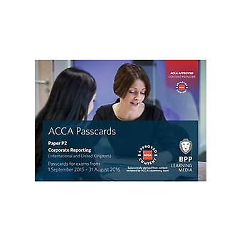 ACCA P2 Corporate Reporting (International) - Passcards by BPP Learnin