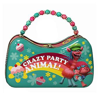 Trolls Movie Crazy Party Animal Tin Scoop Purse