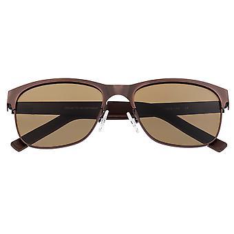 Breed Hypnos Titanium Polarized Sunglasses - Brown/Brown