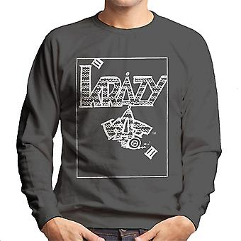 Krazy kat Classic sarja kuva logo miesten pusero