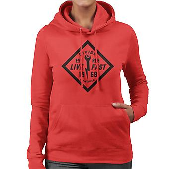 Divide & Conquer Live Fast Wrench Women's Hooded Sweatshirt
