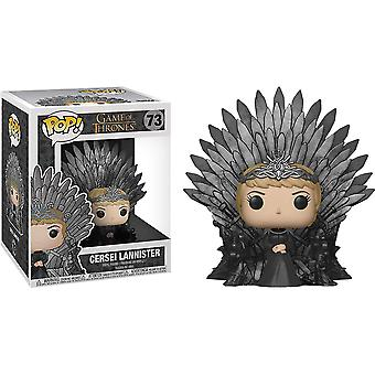 Game of Thrones Cersei on Iron Throne Pop! Deluxe