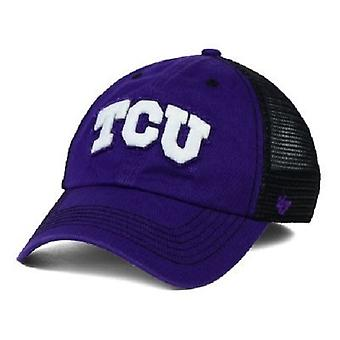 TCU Horned Frogs NCAA 47 Brand Closer Stretch Fitted Hat