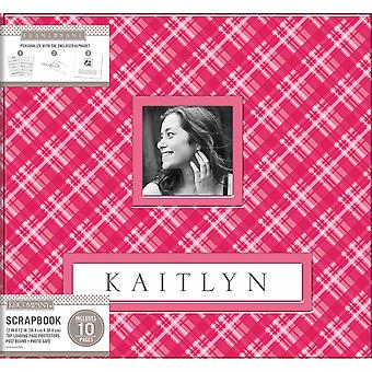 K&Company Frame-A-Name Post Bound Album 12