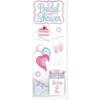 Touch Of Jolee's Dimensional Sticker Bridal Shower E5010029