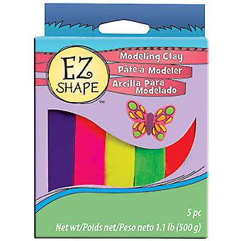 Non Dry Modeling Clay 5 Pieces Brights Ndc53