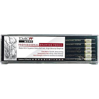 Professional Drawing Pencils 12 Pkg 6B,5B,4B,3B,2B,B,Hb,F,H,2H,3H,4H T51523