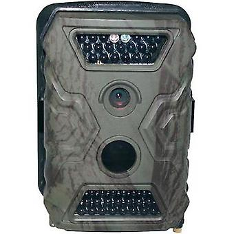 Wildlife camera Berger & Schröter X-Trail HD, 12 MP 12 MPix Black LEDs Khaki-brown (matt)