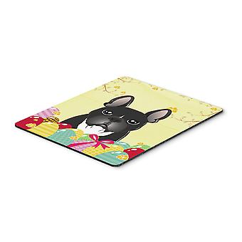 French Bulldog Easter Egg Hunt Mouse Pad, Hot Pad or Trivet BB1909MP