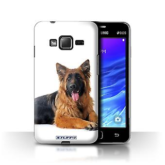 STUFF4 Case/Cover for Samsung Z1/Z130/German Shepherd/Dog Breeds