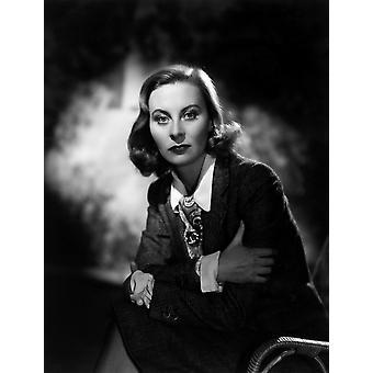 De Fallen Idol Michele Morgan 1948 foto afdrukken
