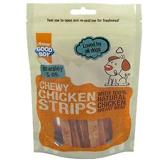 Goede jongen Pawsley & Co taai Chicken Strips 100g (pakje 10)