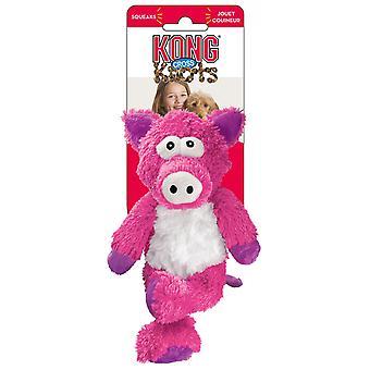 Kong Cruz nudos cerdo pequeñas y medianas