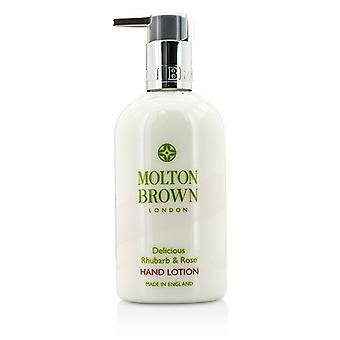 Fra Molton Brown deilig rabarbra & Rose hånd Lotion 300ml/10 Unzen