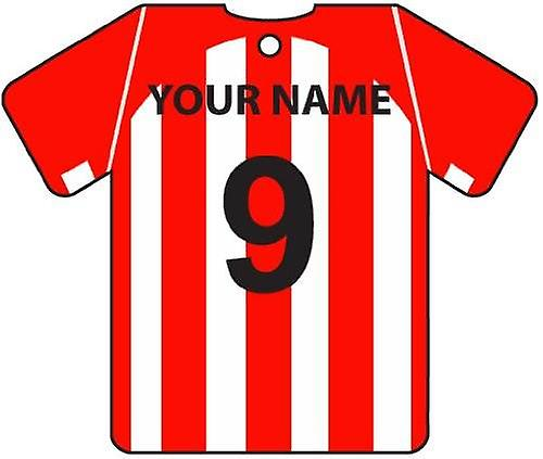 Personalised Sheffield United Football Shirt Car Air Freshener