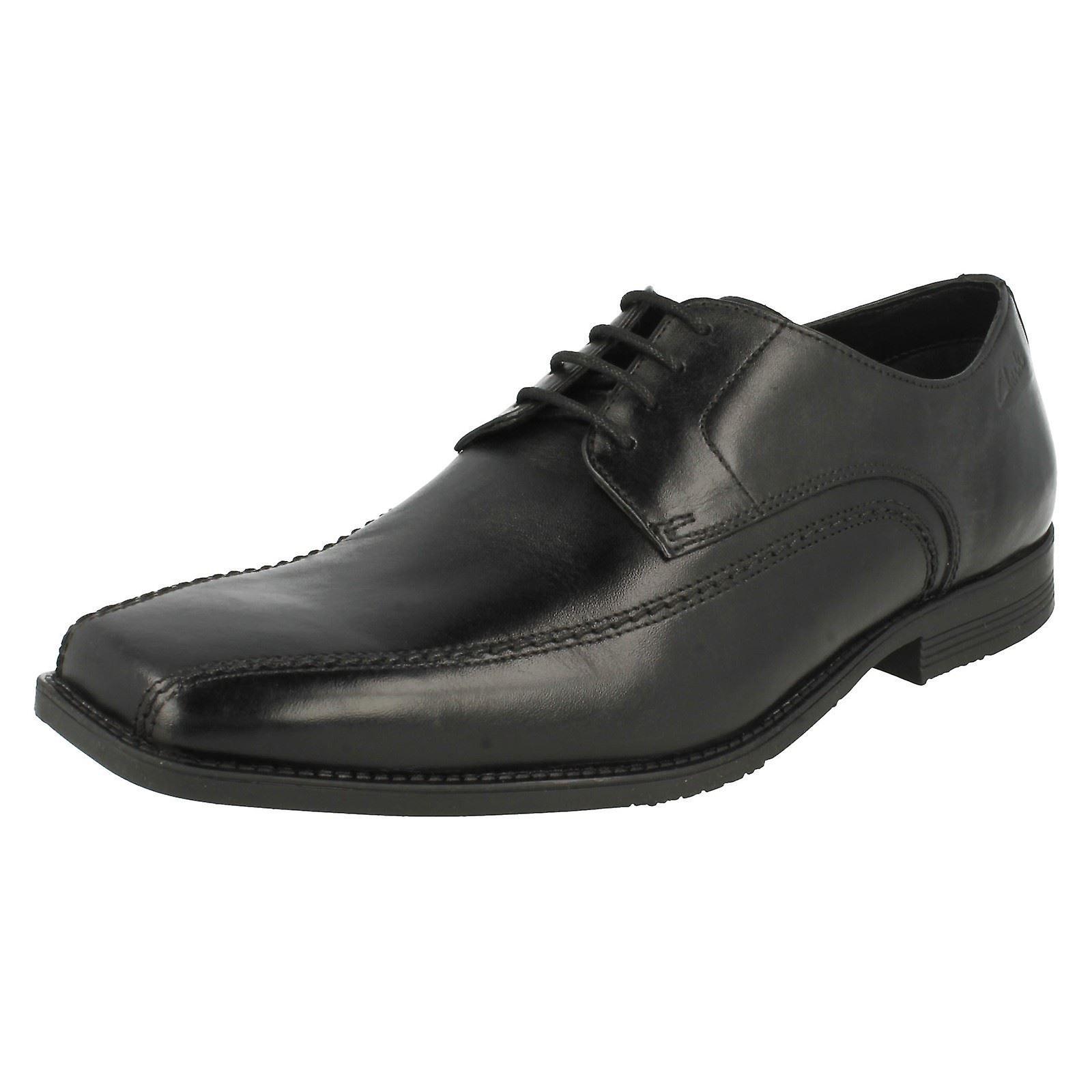 Mens Clarks Formal Lace Up scarpe Baker Lace | Negozio famoso  | Scolaro/Ragazze Scarpa