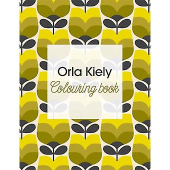 Orla Kiely Colouring Book (Paperback) by Kiely Orla