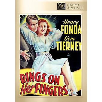 Rings on Her Fingers [DVD] USA import