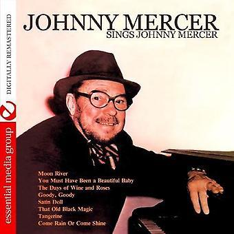 Johnny Mercer - Sings Johnny Mercer [CD] USA import