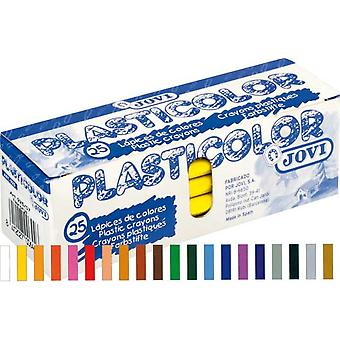 Jovi Caja 25 Plasticolor Amarillo Claro (Toys , School Zone , Drawing And Color)