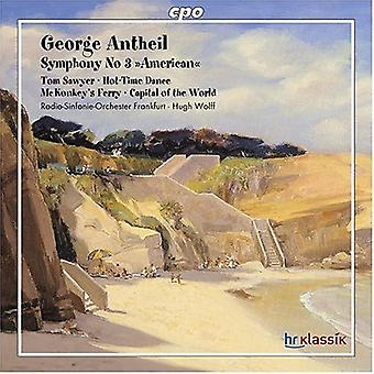 G. Antheil - George Antheil: Symphonie Nr. 3 American [CD] USA import