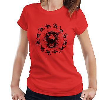 Abe feber 12 Monkeys kvinder T-Shirt