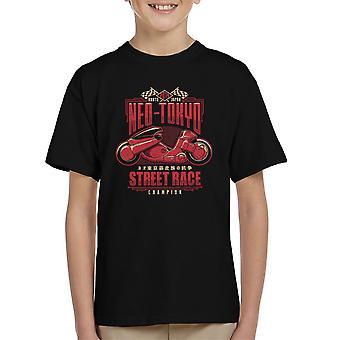 Neo Tokyo Street Racing mester Akira børne T-Shirt