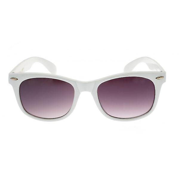 W.A.T White Retro Inspired Sunglasses