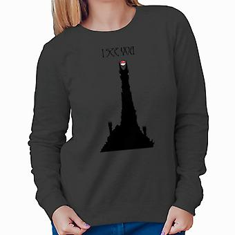 Pokemon Lord Of The Rings I See You Women's Sweatshirt