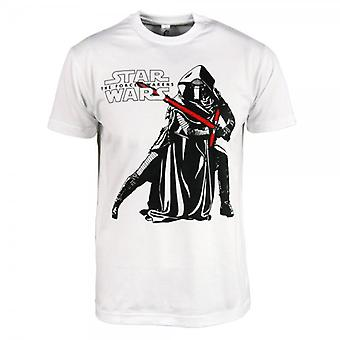 Star Wars Mens Star Wars : The Force se réveille Kylo Ren T Shirt blanc
