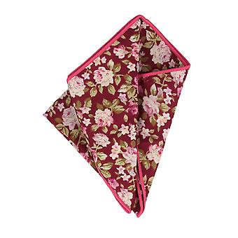 Snobbop handkerchief red floral handkerchief Cavalier cloth