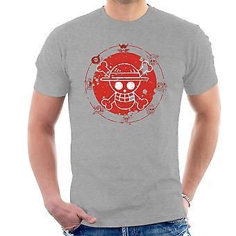 Één stuk Logo mannen T-Shirt